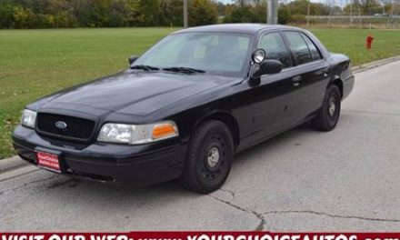Keep Your Eyes Peeled For Retired Police Cars Near Schaumburg