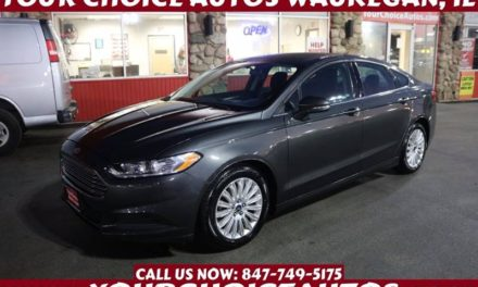 The Used 2016 Ford Fusion Takes Streamwood, IL By Storm