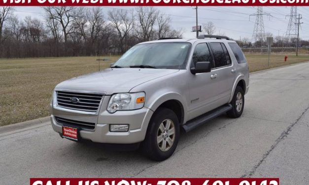 A Used Ford Explorer May Be The Perfect Solution For Joliet Drivers