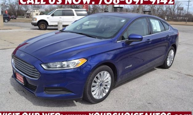 The Used Ford Fusion Tames Joliet, IL Roads